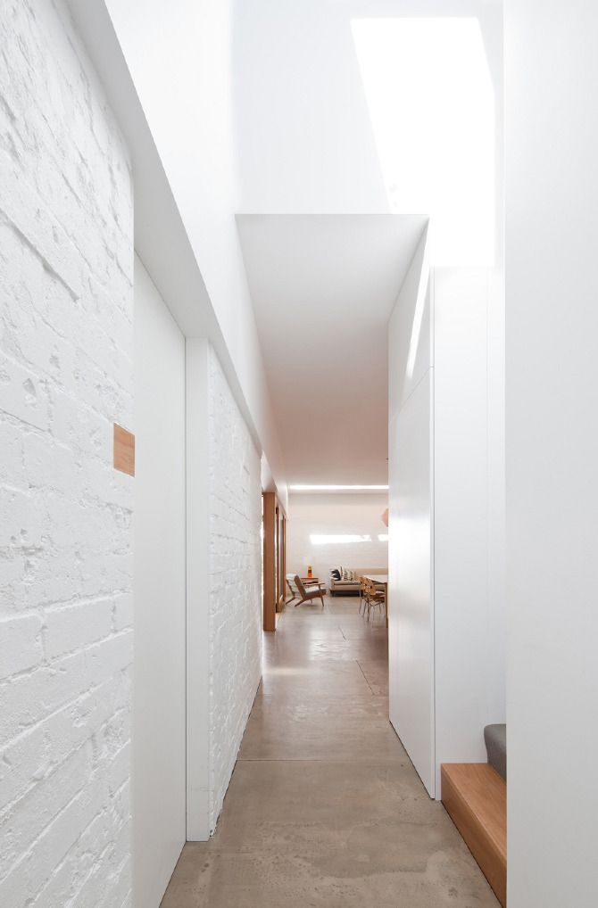 Love It White Brick Walls House Design Modern House Design