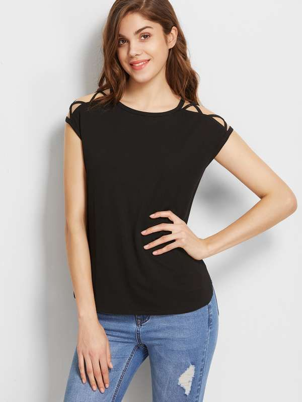 2017 Summer Floral Printed Linen T shirt Women Thin