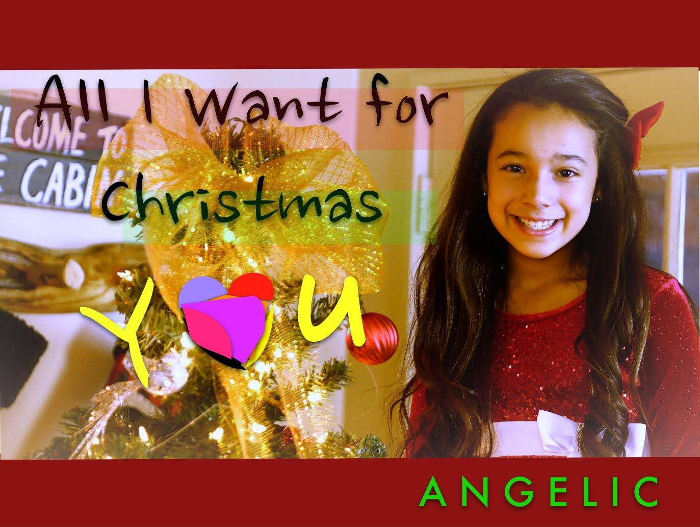All I Want For Christmas Is You Mariah Carey Angelic Cover 10 Years Old