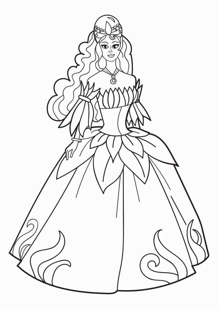 نقاشی دخترانه پرنسسی