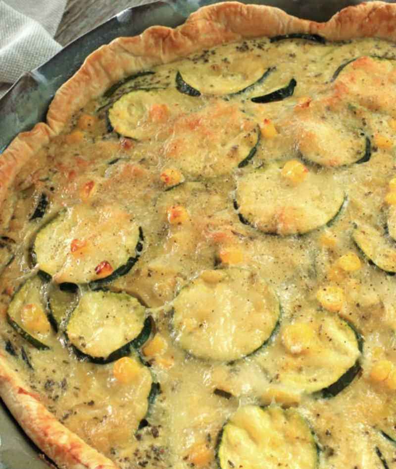 Sweet Corn and Zucchini Pie   Recipe   Sweet corn, Pie ...
