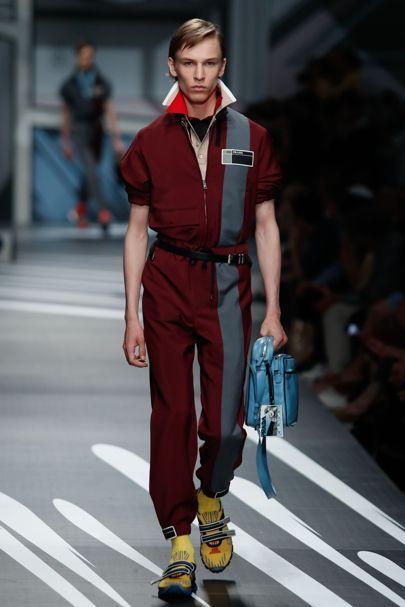 Prada Spring Summer 2018 Menswear 0d7a3d8df7