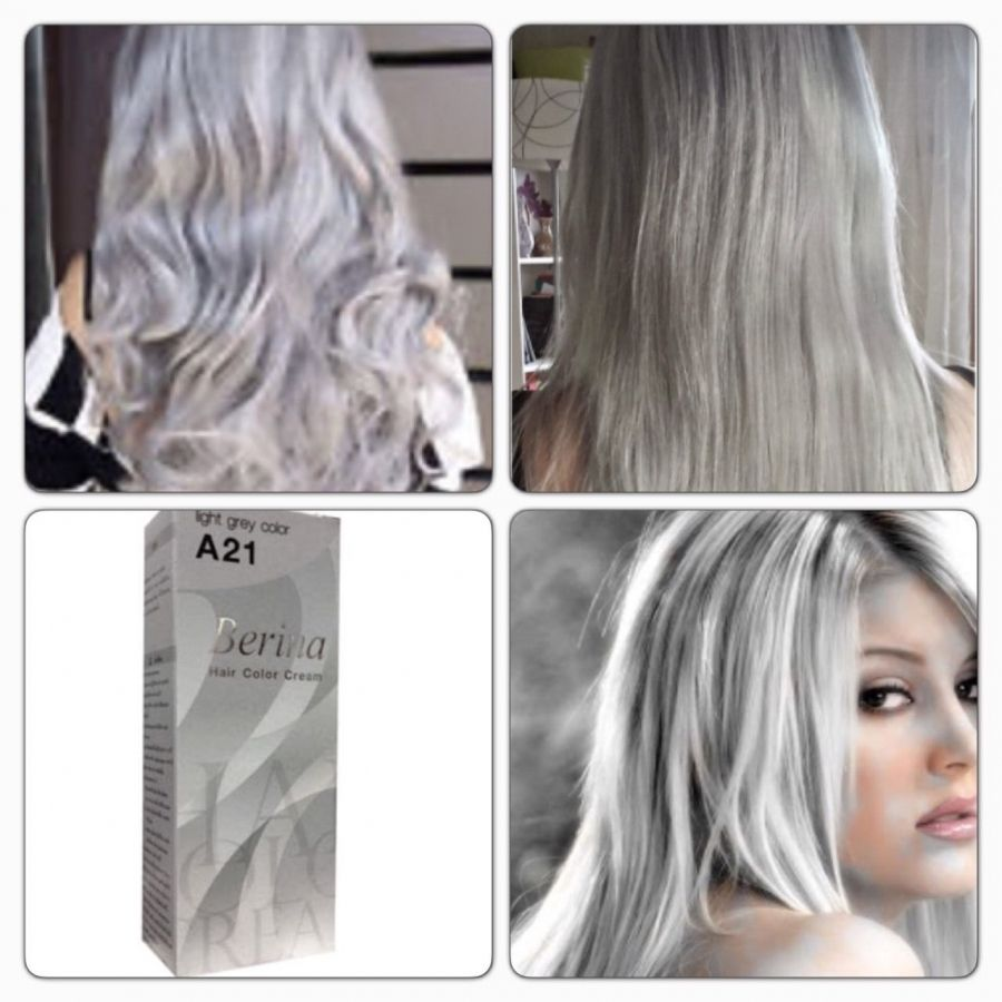 light gray hair color - best hair color gray coverage Check more at ...