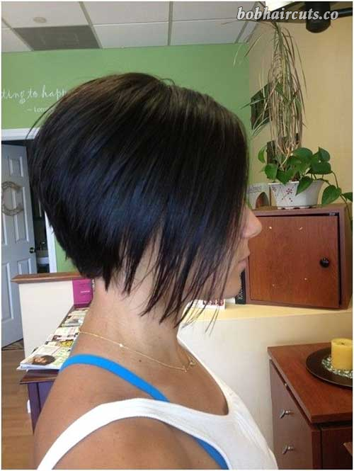 10 Bob Stacked Hairstyles 8 Stuff To Try Pinterest Stacked