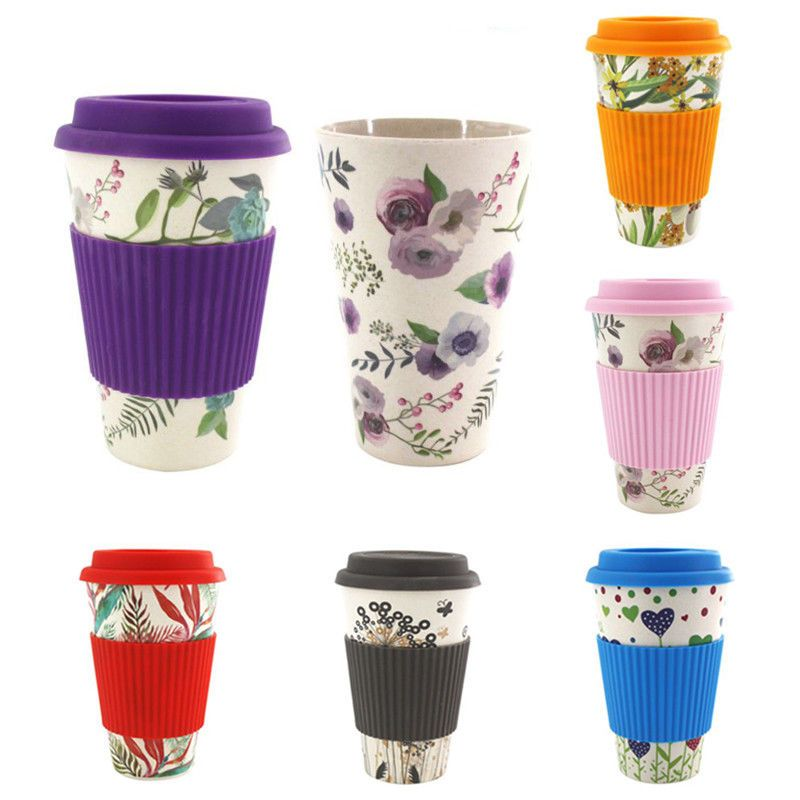 Cheap Teacups Buy Directly From China Suppliers New Arrival Cup Bamboo Fiber Creative Fashion Coffee Tea Mug Wheat Str In 2020 Reusable Coffee Cup Mugs Uk Coffee Cups