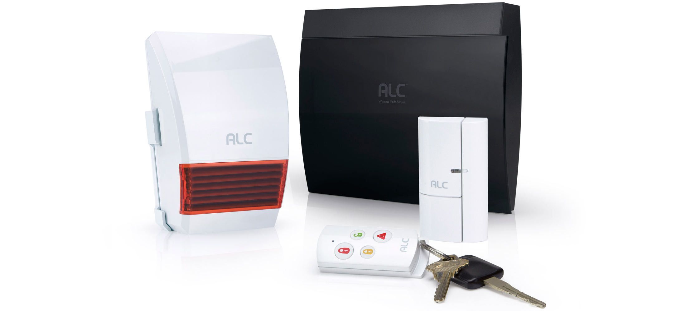 OVERVIEW This easy-to-install DIY security system includes: Control
