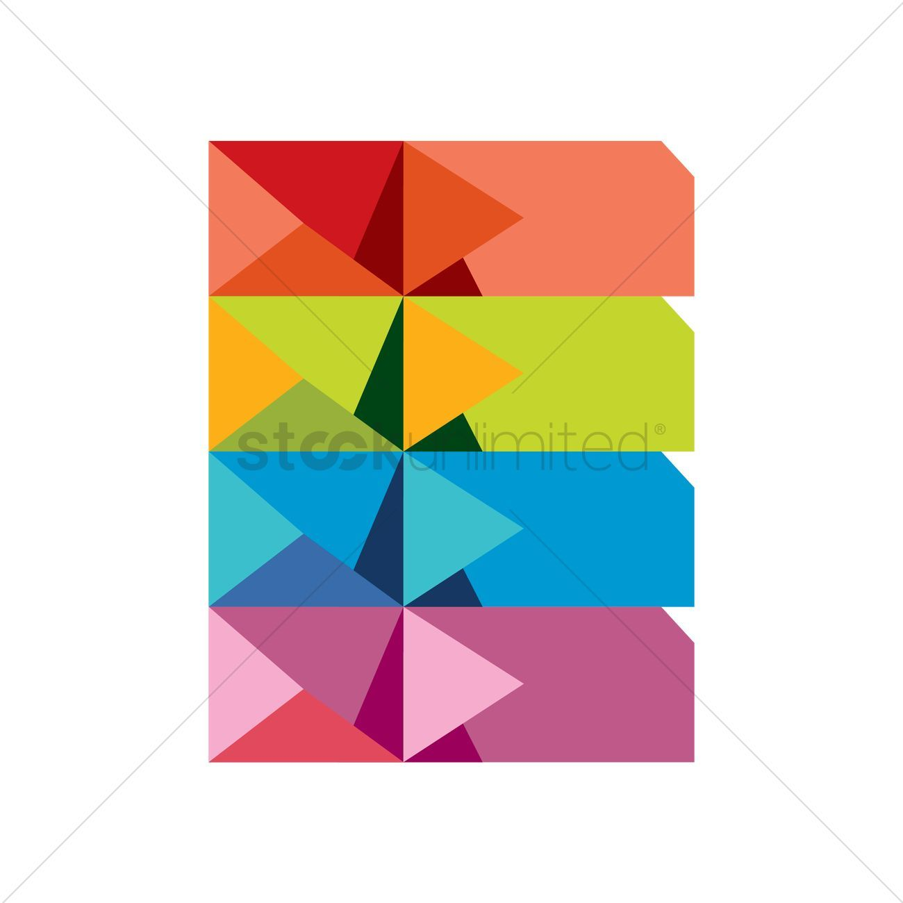 Abstract design element stock vector