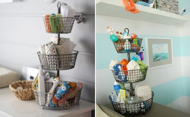 Ideas para organizar la habitaci n del beb ambientes - Ordenar habitacion ninos ...
