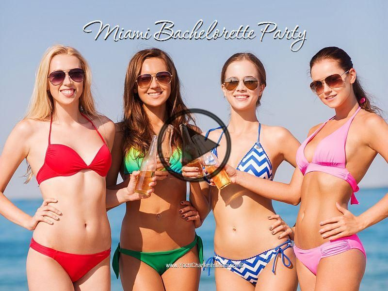 Girls just wanna have fun…on a yacht charter in Miami for their Bachelorette Party! Make this – Luxury Yacht Charter – Top 550 Yacht Charter Bases