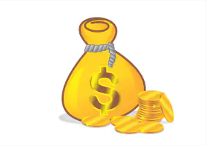 Gold Dollar Money Bag Gold Money Dollar Money Money Bag