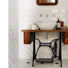 Arredo bagno vintage donna moderna progetti da provare pinterest - Arredo bagno vintage ...