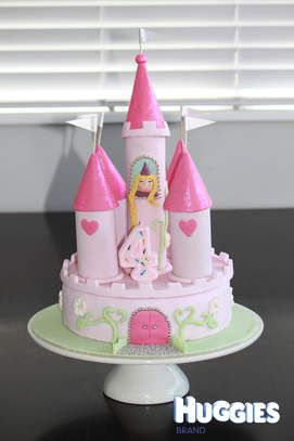 The Perfect Princess cake I made for my little Princess Keyshias