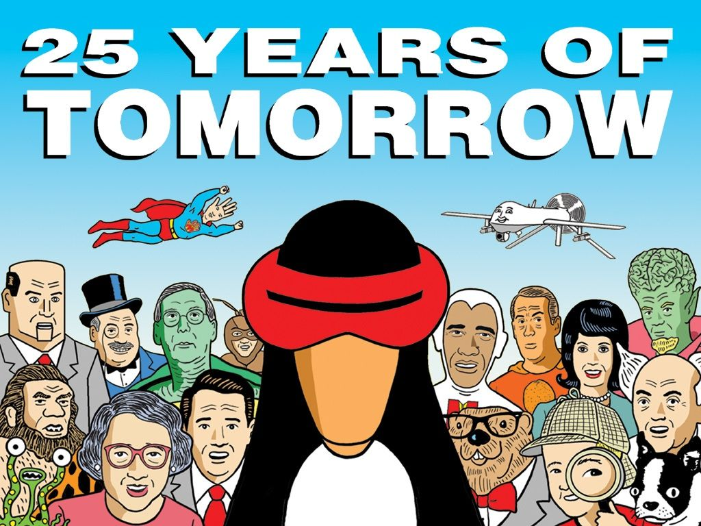 25 Years of Tomorrow project video thumbnail