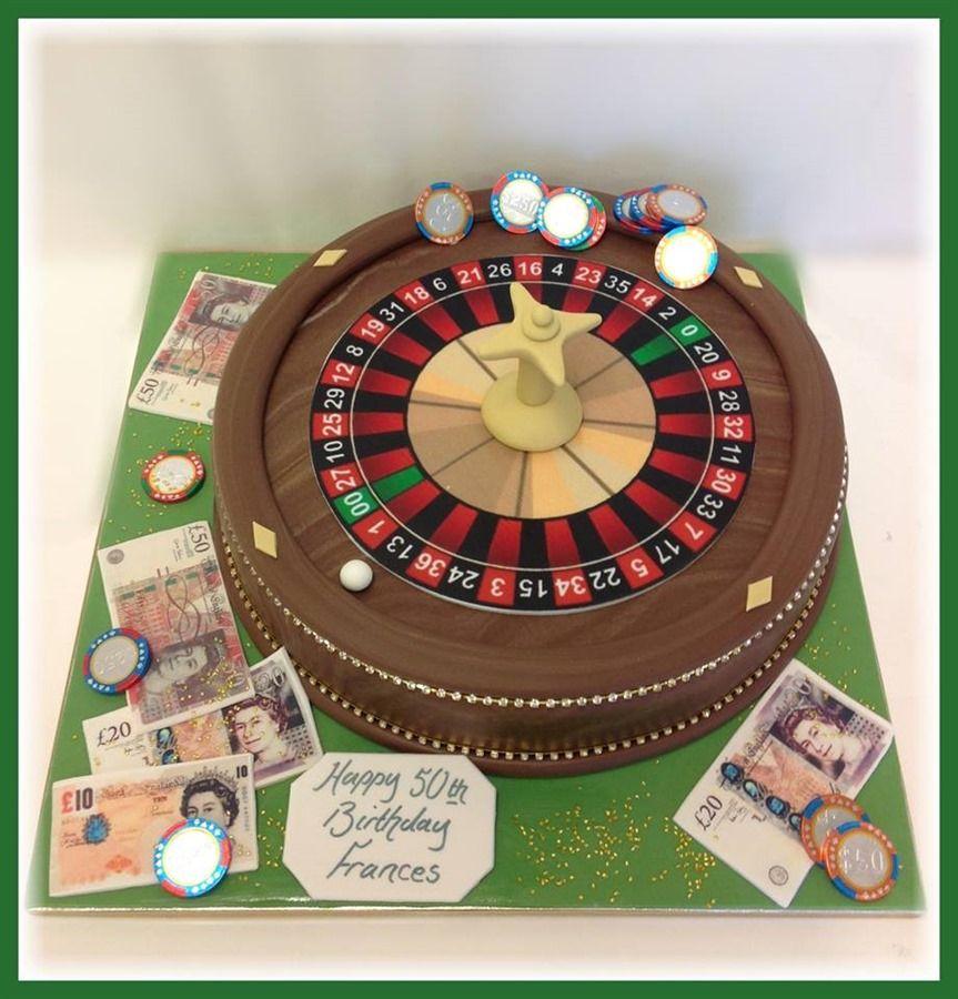 Bespoke cakes wheel cake roulette roulette table