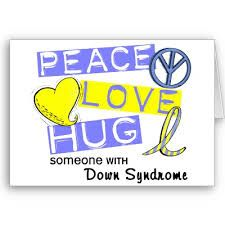 Love life and be gentle: Symbols, images and logos of Down Syndrome