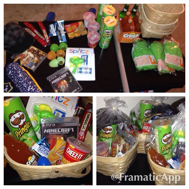 Home made easter basket for boys pringles beef jerky cheez its home made easter basket for boys pringles beef jerky cheez its rice negle Gallery