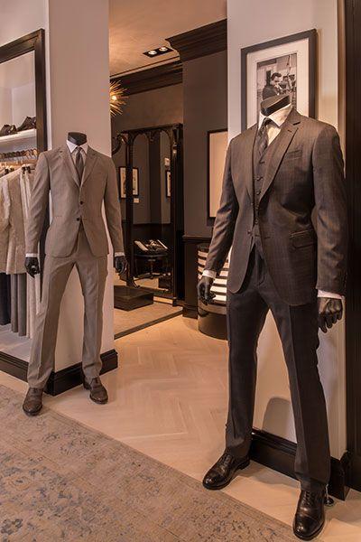John Varvatos, dark grey suit