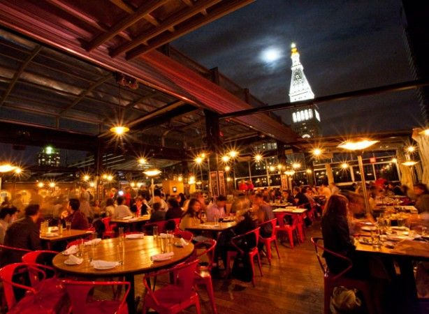 Eataly Rooftop Nyc New York City Dinner Restaurant