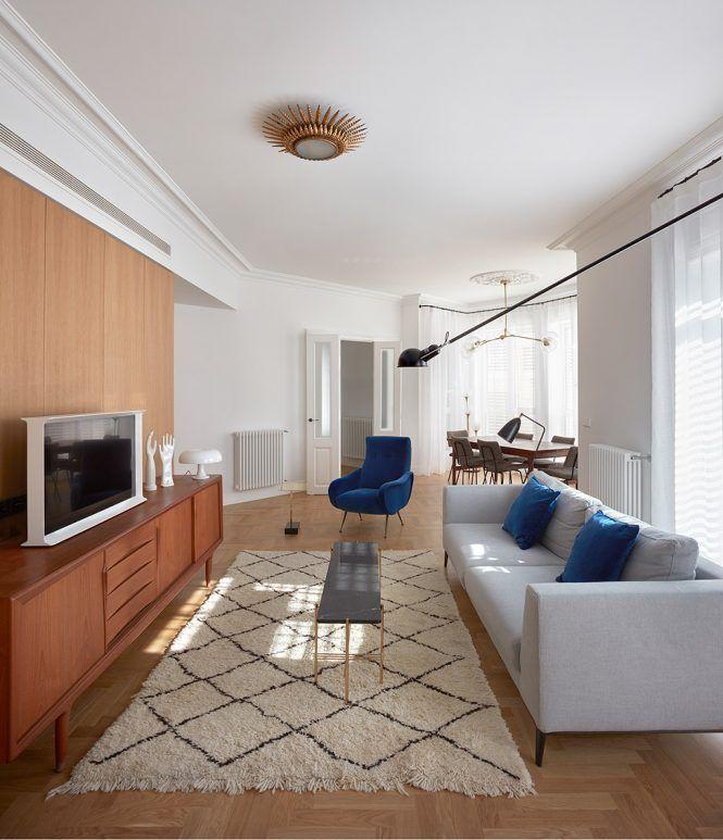 piso nórdico valencia mid century modern estilo nórdico valencia estilo escandinavo decoración nórdica decoración interiores comoda danesa aparador danés