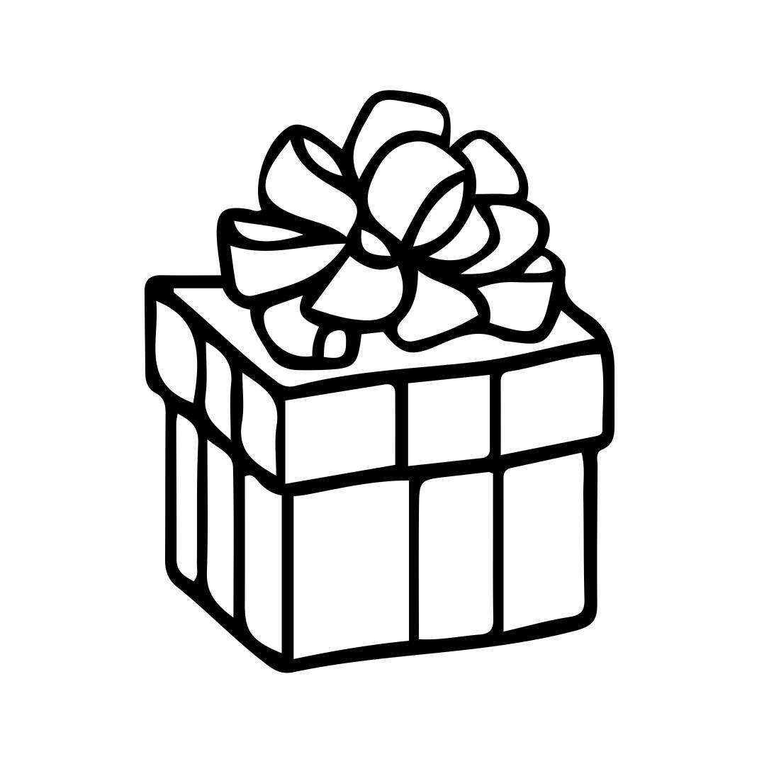 Christmas Gift Box 2 Graphics SVG EPS Png Cdr Ai Pdf