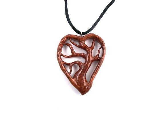 hand carved en necklace online jewelry dolfi costume and shop necklaces wooden wood medallions