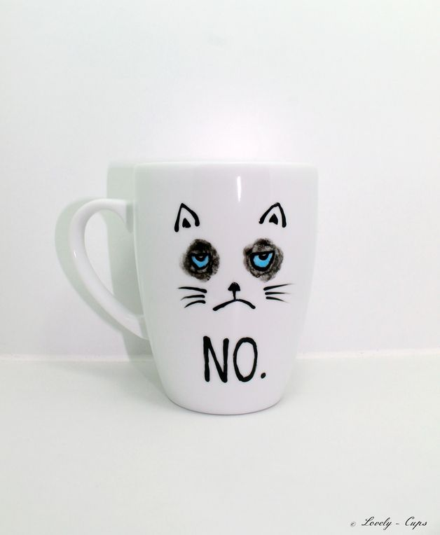 die besten 25 katzen tasse ideen auf pinterest katzen kaufen hunde t shirt und geschenke f r. Black Bedroom Furniture Sets. Home Design Ideas