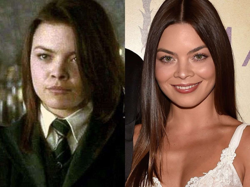 Stars You Probably Didn T Realize Were In The Harry Potter Movies C Warner Bros And David Becker Getty I In 2020 Harry Potter Movies Scarlett Byrne Pansy Parkinson