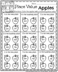 Back To School First Grade Worksheets Planning Playtime First Grade Math Worksheets First Grade Worksheets Back To School Worksheets