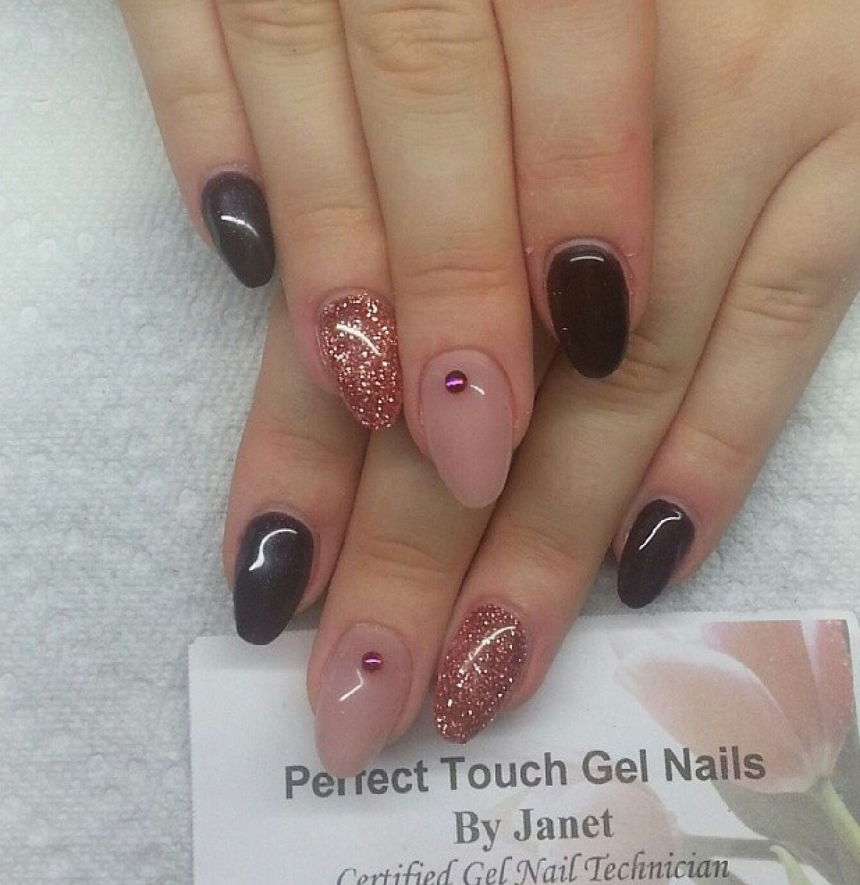 Almond Nail Art | Beauty | Pinterest