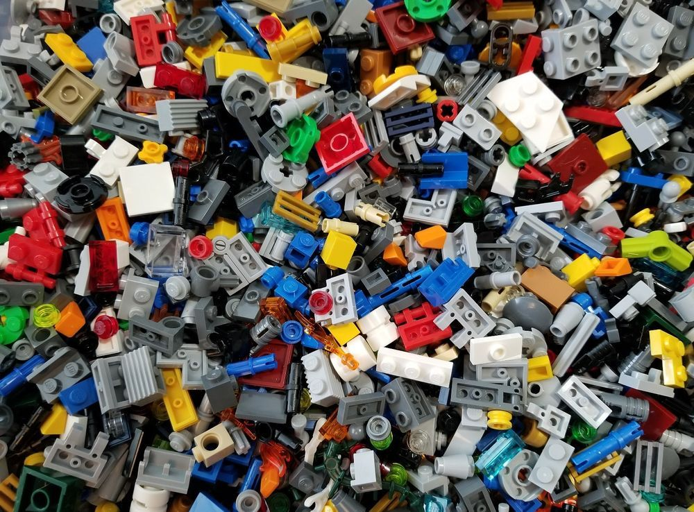 Lego Lot of 500 NEW Parts /& Pieces Bulk Star Wars /& More FREE US SHIPPING