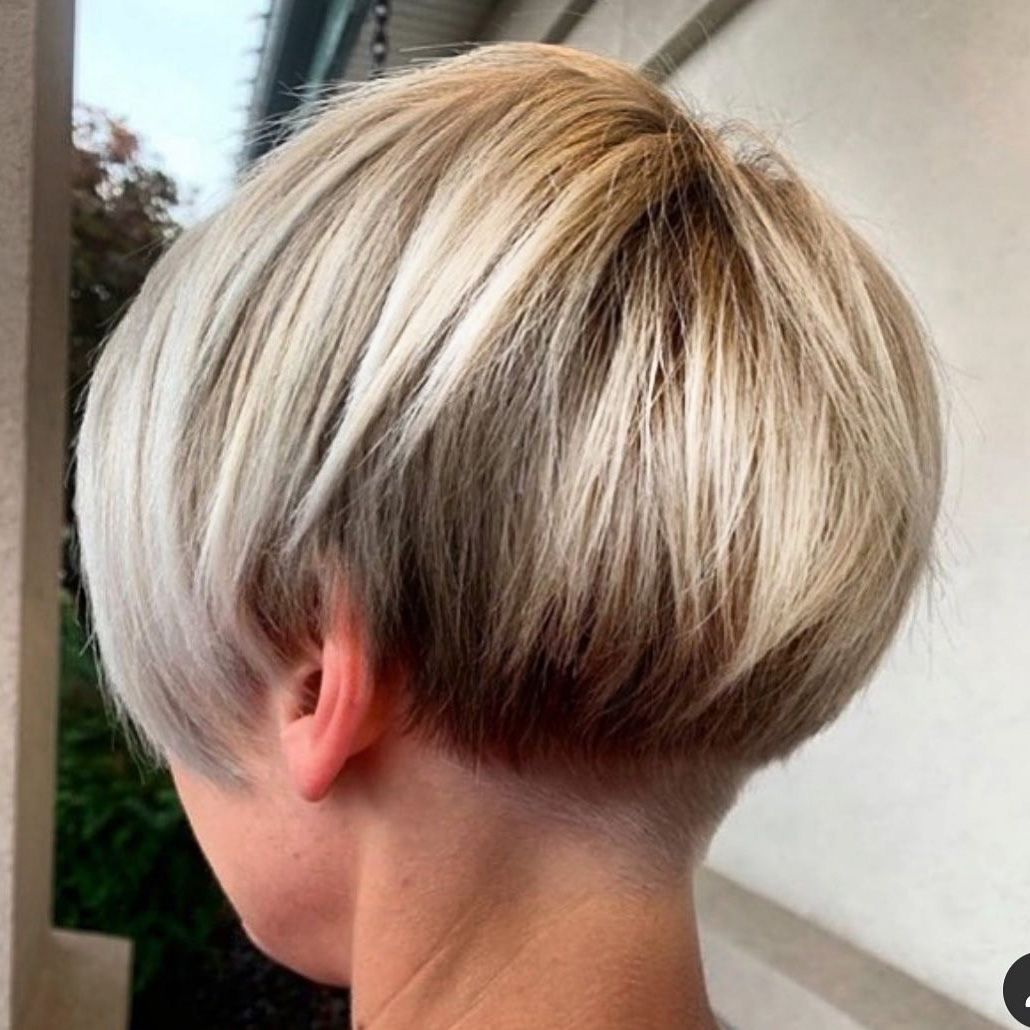 Short Undercut Hairstyle For Bob Hair Undercut Long Hair Short Hair Undercut Hair Styles