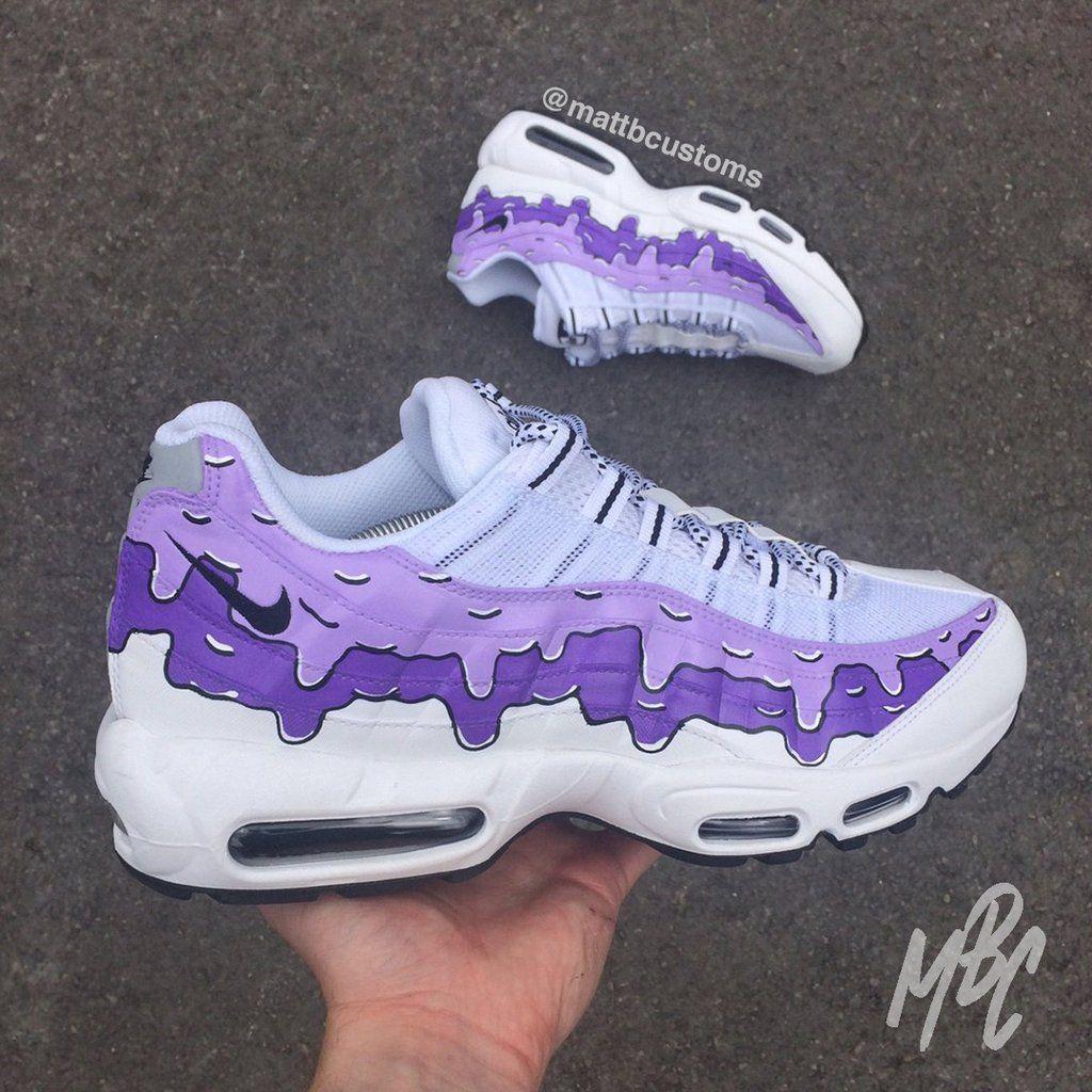 Custom Nike Air Max 95 | Angelus Paints