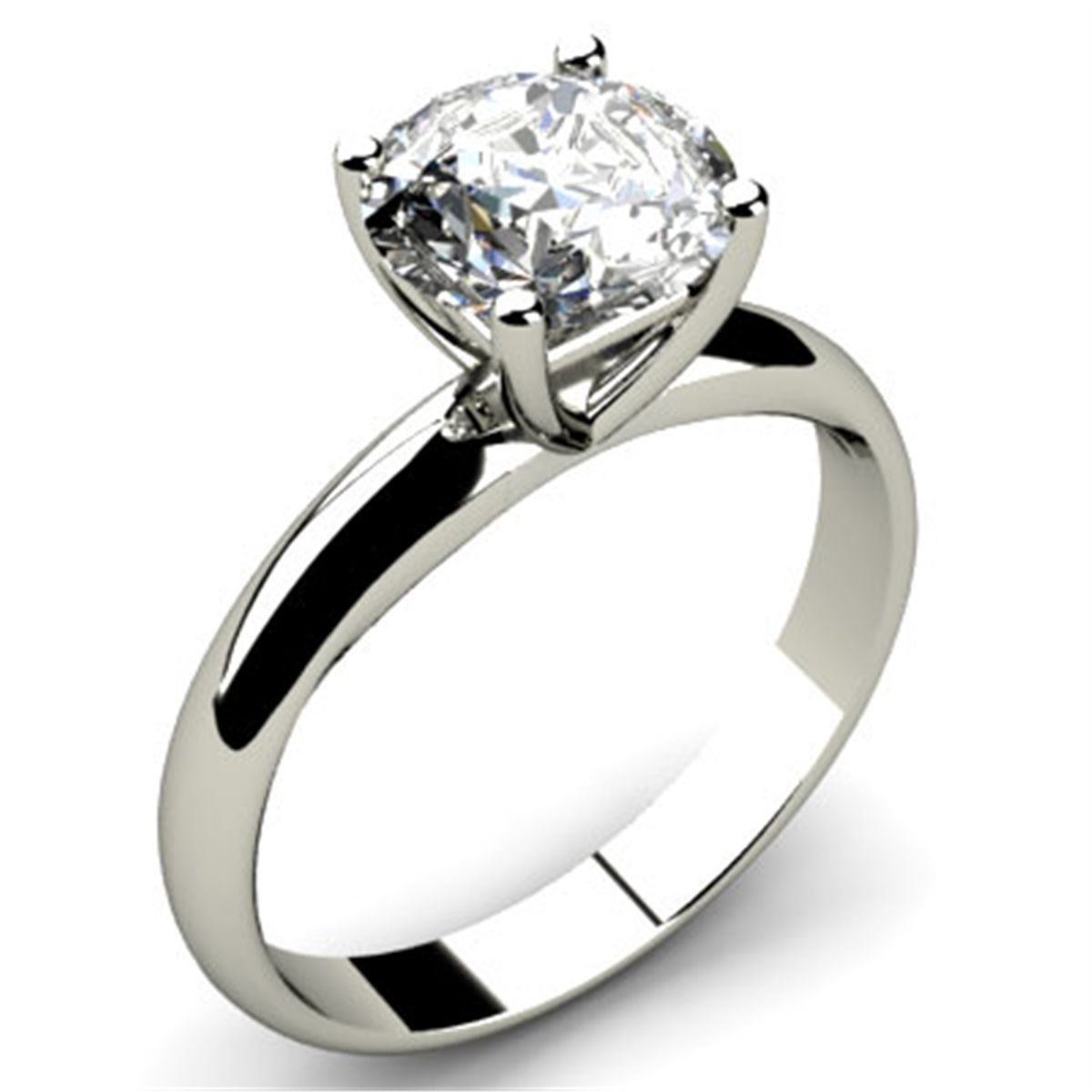 set a ring cut solitaire four carat with cushion diamond product engagement min prong