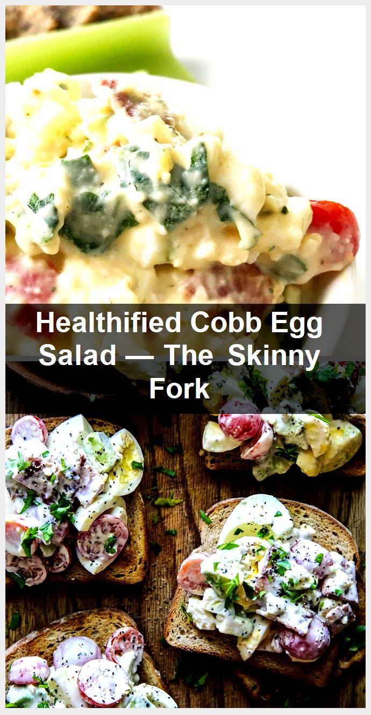 Healthified Cobb Egg Salad  The Skinny Fork Healthified Cobb Egg Salad  The Skinny Fork