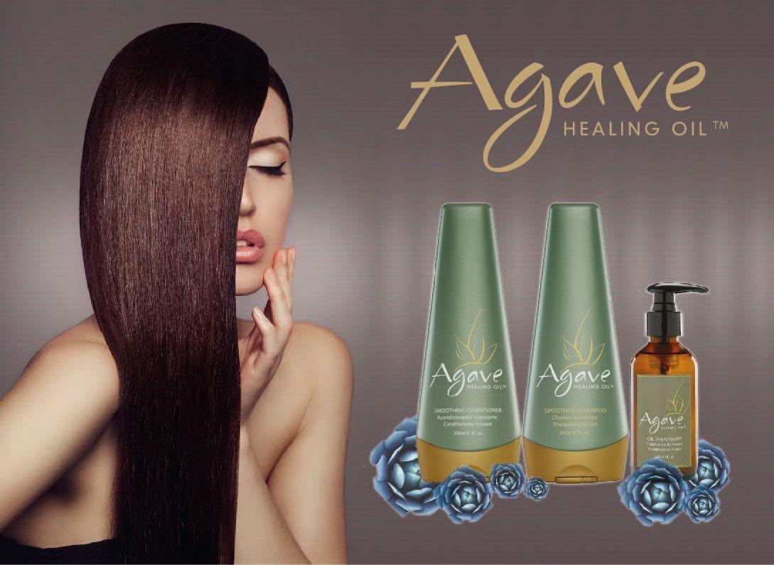 Ogni donna può avere capelli come questi! Basta volerlo e... usare i prodotti Agave Smoothing: gli unici al mondo con estratti naturali di Agave Azzurra con effetto condizionante e anticrespo fin dalla prima applicazione!