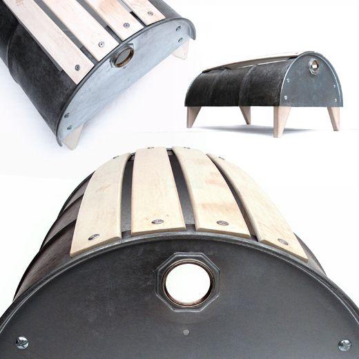 The World S Top 10 Best Uses For Old Oil Drums Paperblog Recycled Barrel Metal Barrel Oil Drum
