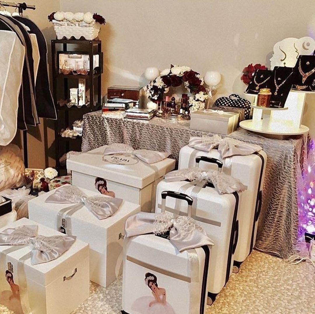 جهاز العروسة الجزائر الجزائر Algeriamybeautifulcountry Algerie Followme Fol Wedding Gifts Packaging Wedding Gift Pack Wedding Backdrop Decorations