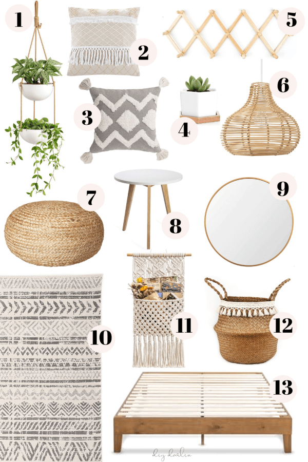 Photo of Boho Bedroom Ideas From Amazon – DIY Darlin'