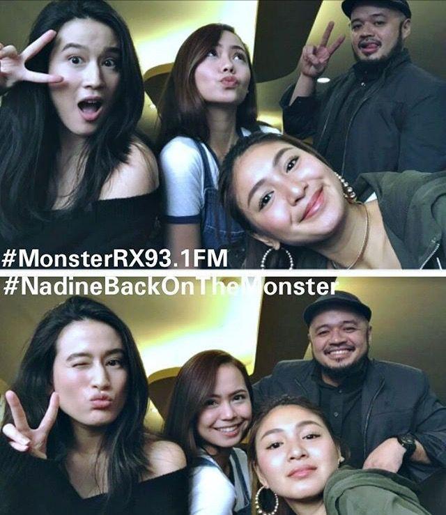 Monster Rx 93 1 Fm Tweet July 28 2017 Nadinebackonthemonster