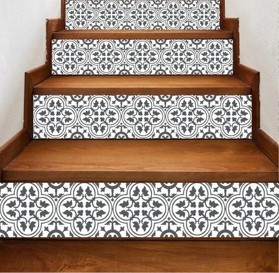 15 Incredible Mediterranean Staircase Designs That Will: Stairs Riser Stickers Pack Of 15 Stickers Length: 47
