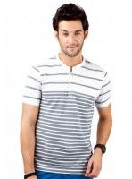 BUY Engineered Stripes HENLEY @ Rs.899!