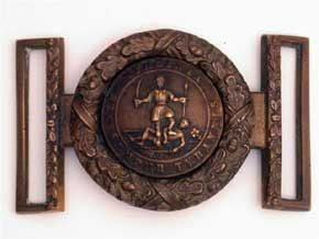 Virginia State buckle from Michael Simens