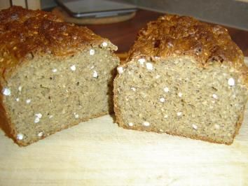 Buchweizen Korner Brot Rezept Mit Bild Rezept Brot Rezept Rezepte Lebensmittel Essen
