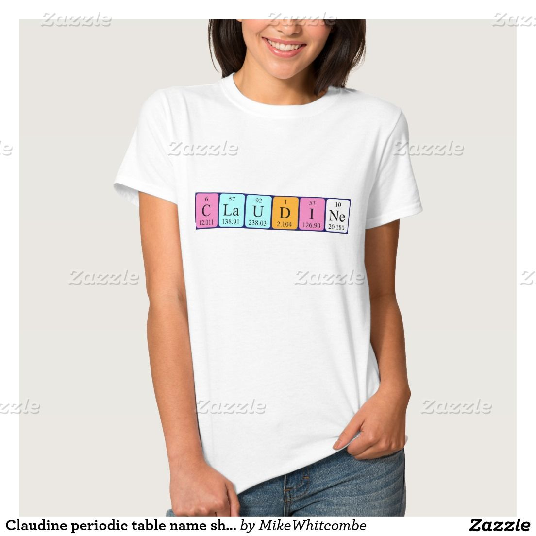 Claudine periodic table name shirt march 2016 purchases from my claudine periodic table name shirt urtaz Image collections