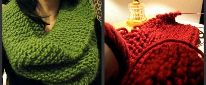 Diy Technik Stricken B Knit C O W L Pinterest Stricken