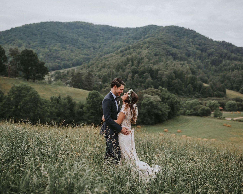 Claxton Farm Wedding Asheville North Carolina. Scenic ...