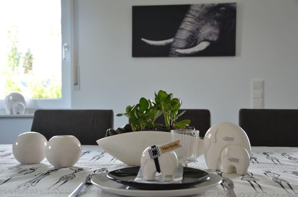 Afrika Tischdeko - Ideen für Zuhause www.tiziano-shop.com ...