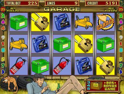 Игровые автоматы the garage online играть на виртуальные деньги в игровые аппараты