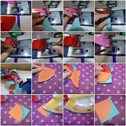 Sewing Curves mosaic