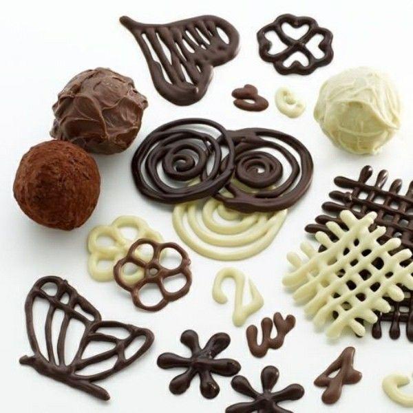 Fabelhafte Ideen und Tipps, wie Sie Torten dekorieren. Thema: Schokolade - Kuchen Dekorieren -